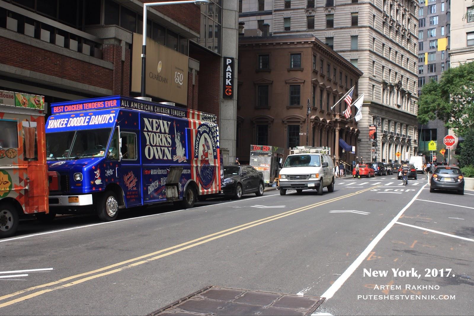 На улице в Нью-Йорк-Сити