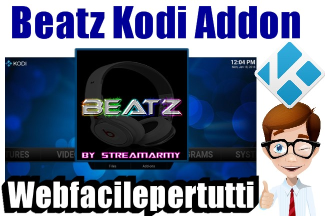 Beatz Kodi Addon | Ascolta Il Meglio Della Musica Su Kodi