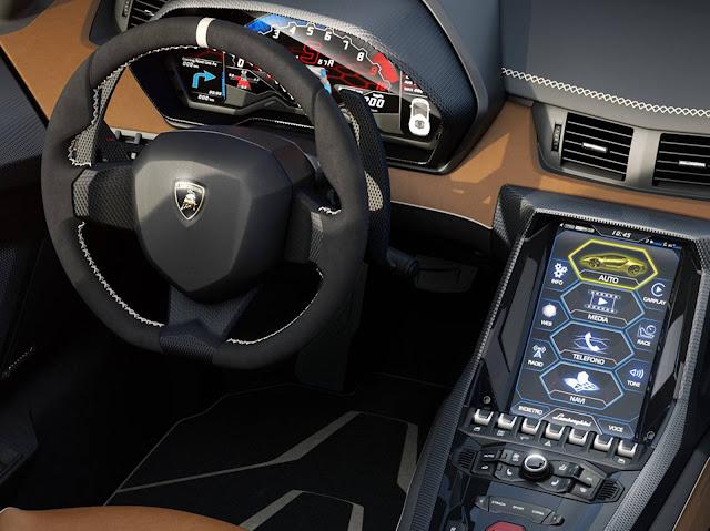 Lamborghini Centenario Roadster - interior - painel