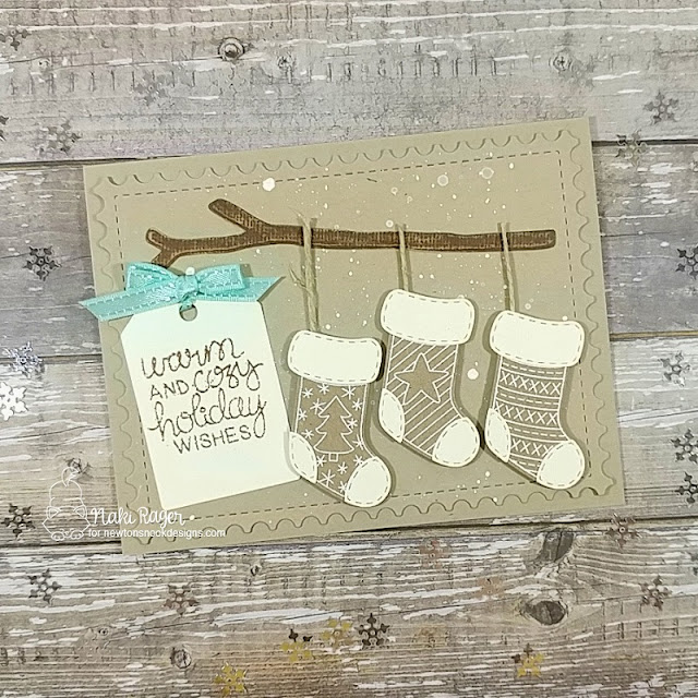Newton's Nook Designs Holiday Stockings Set - Naki Rager