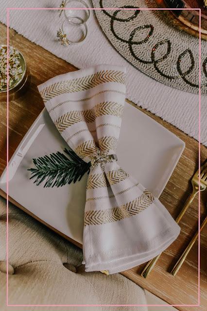 Joanna Buchanan Christmas Snowflake Napkin Rings