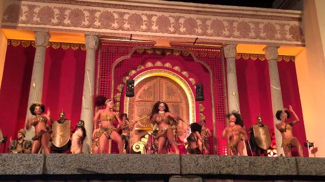 mulheres no bacanal de herodes