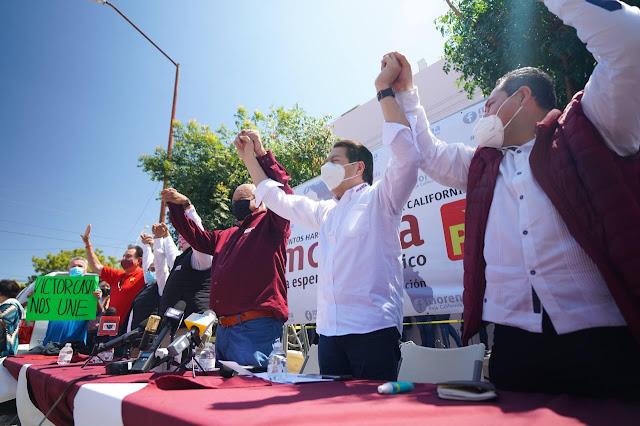 Convoca Mario Delgado a morenistas a defender el avance de la transformación