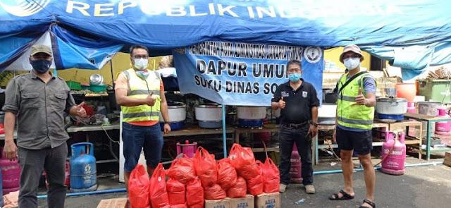 Bank Mandiri Peduli Korban Banjir Jatabek