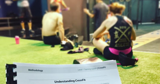 Studying for CrossFit Level 1 Trainer Certificate Course