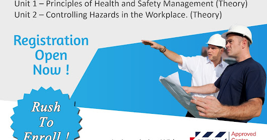 unit a principles of hse management Successful health and safety management was prepared by hse as a this book describes the principles and management practices which (now operations unit).