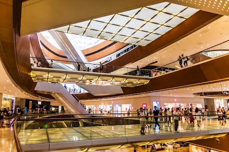 Shopping malls use AI