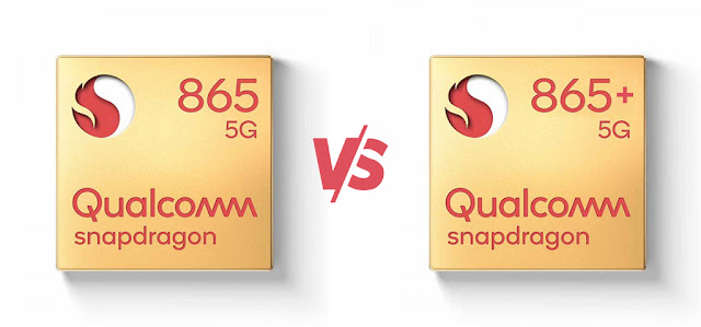 Qualcomm Snapdragon 865+ vs Snapdragon 865