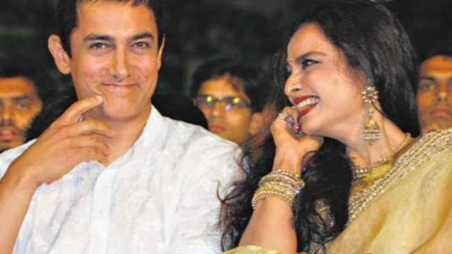 amir khan never worked with rekha