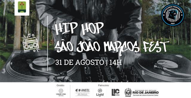 Hip Hop São João Marcos Fest vai agitar o Parque Arqueológico e Ambiental de São João Marcos