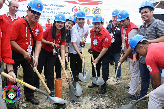 PRC Ground Breaking Ceremony in Bogo City
