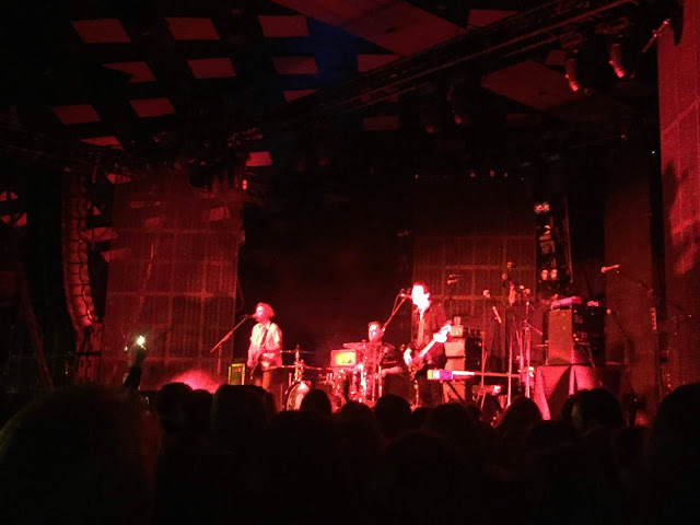 The Xcerts, supporting You Me At Six, at Glasgow Barrowland