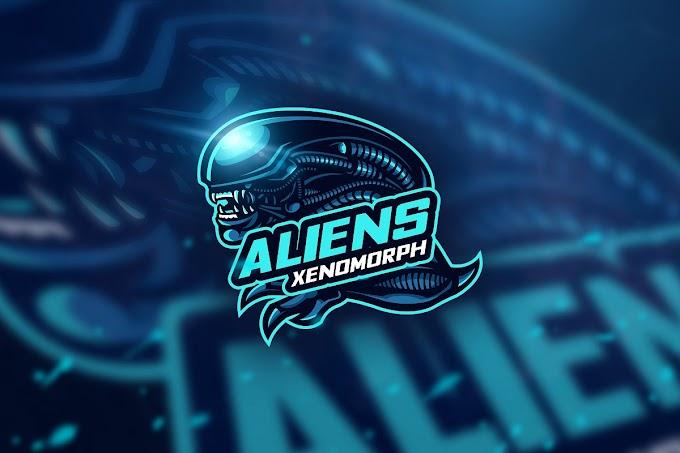 Alien Xenomorph - Mascot & Esport Logo