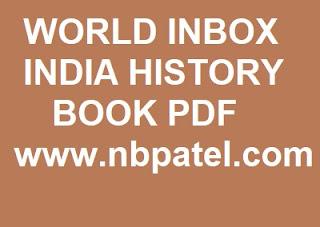 WORLD INBOX INDIA HISTORY BOOK PDF