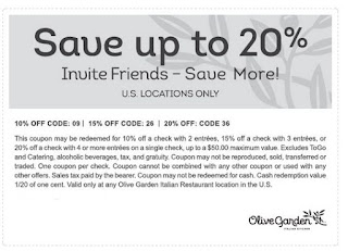 Olive Garden Printable Coupons May 2018 Info Coupons 2018