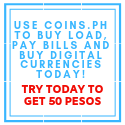 Get 50 when signing up with coins.ph