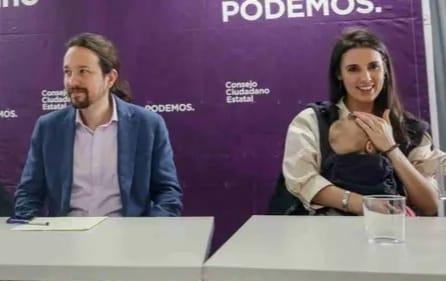 Irene Montero y Pablo Iglesias agradecen el apoyo recibido y analizan lo sucedido en redes
