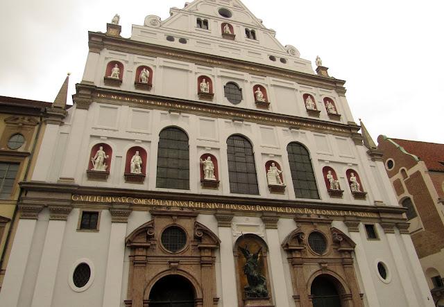 Igreja de São Miguel, Munique Alemanha