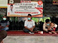 Dewan PKS Lampung Timur Serap Aspirasi Masyarakat Way Jepara