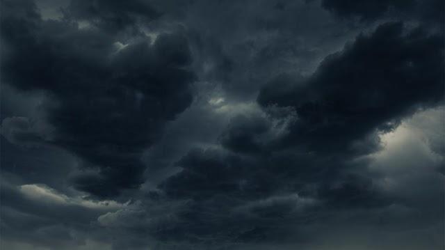 Elfeketedett a radar és az ég, pokoli zivatarok csaptak le