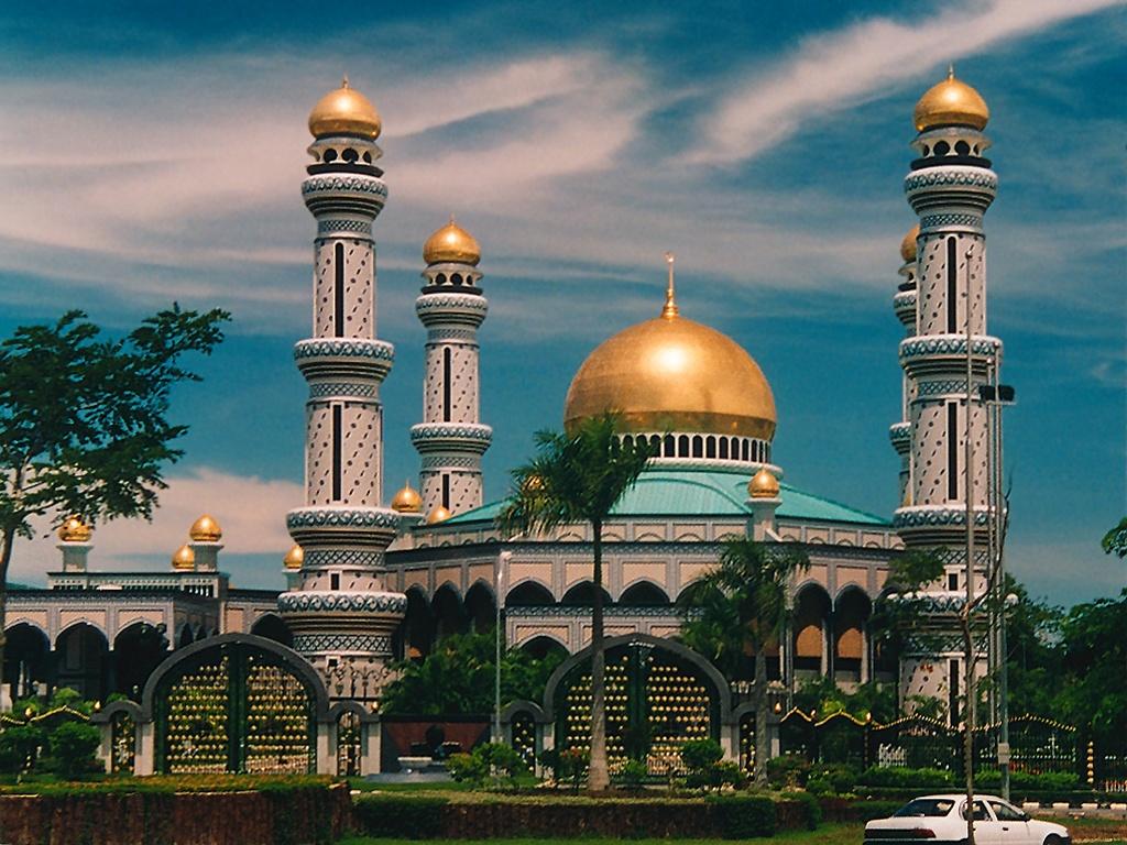 Mosque: Beautiful Mosque Wallpaper