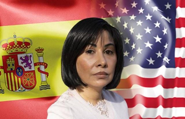 Justicia española aprobó la extradición de la extesorera nacional venezolana Claudia Diaz Guillén a Estados Unidos