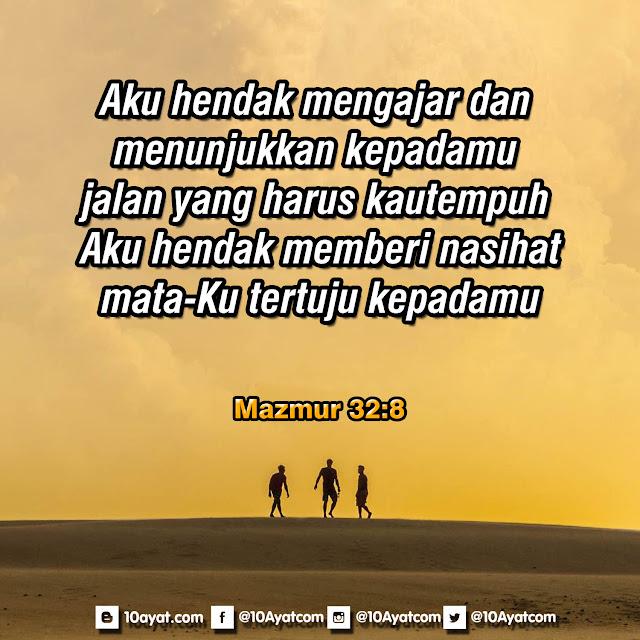 Mazmur 32:8
