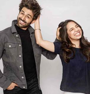 Kartik Aaryan With His Sister
