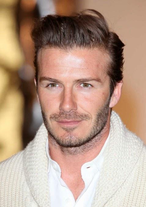 Model Rambut Pendek Pria David Beckham 2014