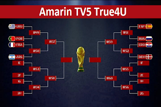 Amarin TV5 True4U Biss Key 27 June 2018