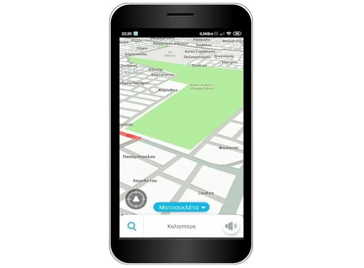 Waze : GPS, χάρτες,  Live πλοήγηση