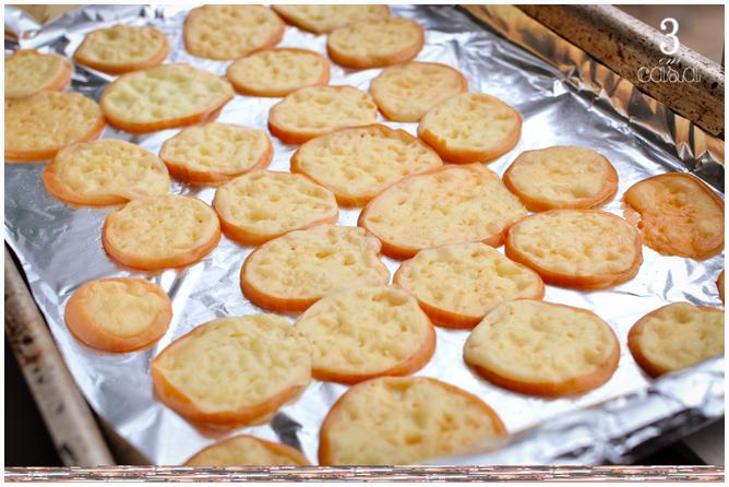 chips provolone como fazer
