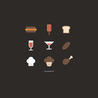 Free Food and Cooking Icon Sets for  Apps and Websites 02
