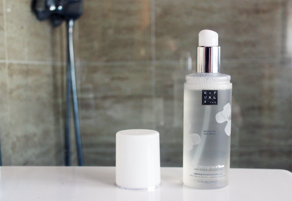 Rituals Ultra Calming Facial Toner review packaging