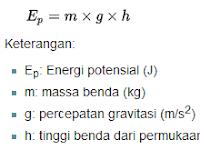 Pengertian Energi Potensial Serta Rumus Dan Jenisnya