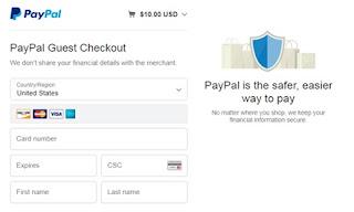 Easier process in www.wmek.org through Paypal