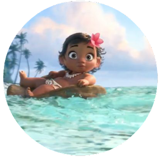 Printable Moana cucpake toppers