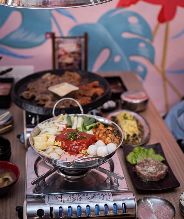 Pesta Barbeque Ala Korea Selatan Di Fat Oppa Bandung - Pesta Bbq, Panggangan Barbeque Lipat Portabel Peralatan Nyaman Luar Ruangan Berkemah Pesta Bbq Lazada Indonesia