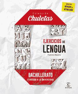 Portada del ebook 'Ejercicios de lengua para Bachillerato'