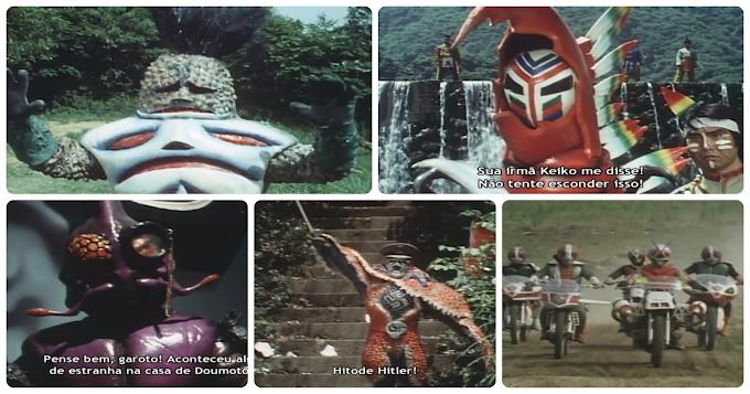 Kamen Rider X Episódios 23 ao 27