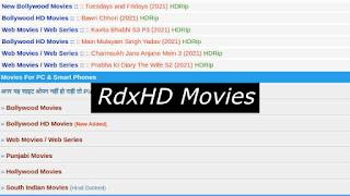 RdxHD Movies Website: Download Bollywood, Telugu, Hollywood, HD Movies Online!