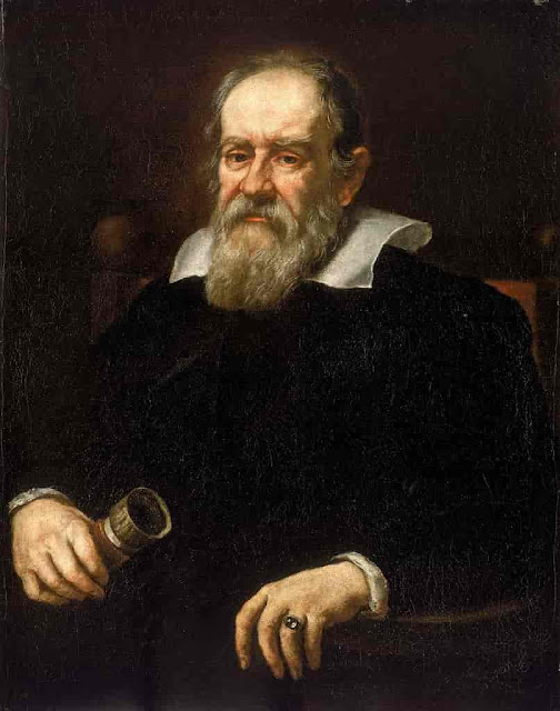 Galileo Galilei - discoverer of the four largest moons of Jupiter