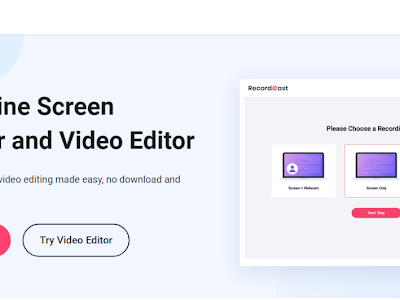 RecordCast- A Tool to Record Your Video Screens in Minutes