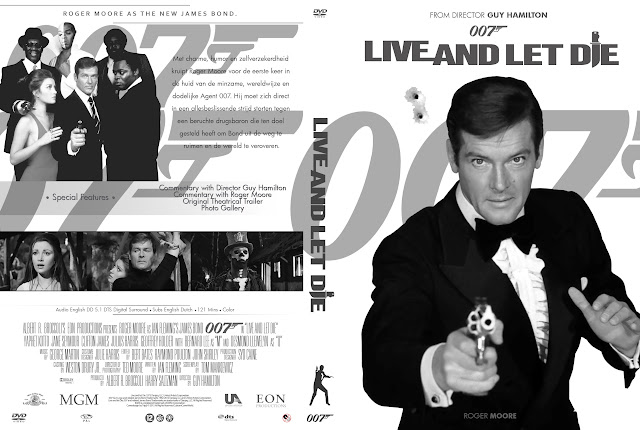 Capa DVD 007 Live And Let Die