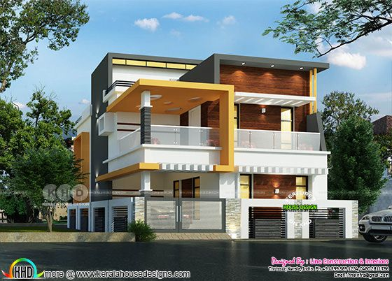 Modern contemporary 3 bedroom house 1624 square feet