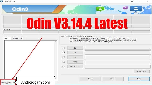 How To Download Odin v3.14.4 Samsung Flashing Official Tool 100% Working Latest Update 2020-21 Free Download To AndroidGSM