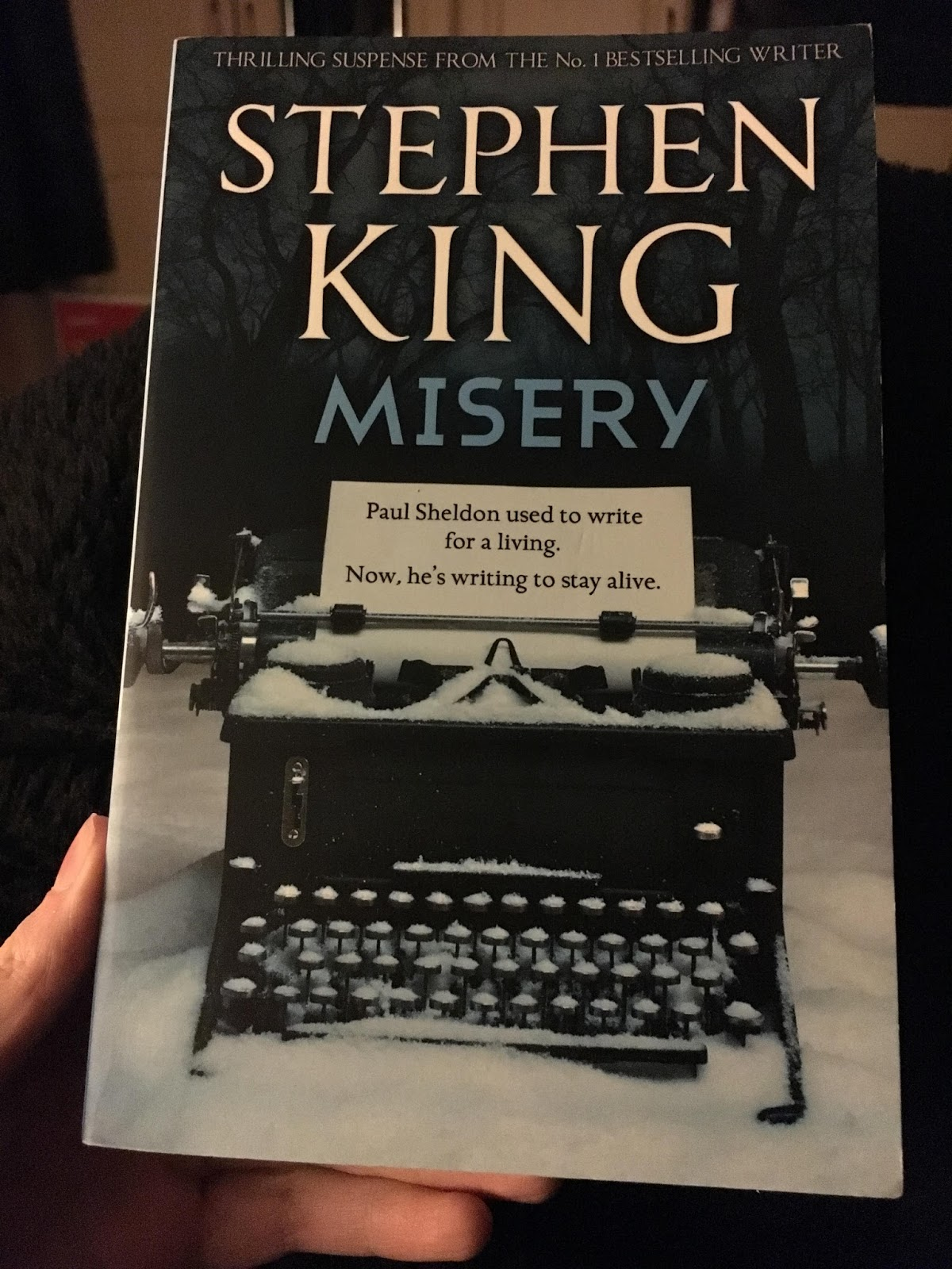 a spine tingling thriller in misery by stephen king