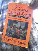 Buku Gary Chapman - Five Love Languages