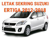sekring suzuki ERTIGA 2012-2018