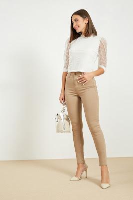 Yüksek Bel Pantolon Modası ve Modelleri